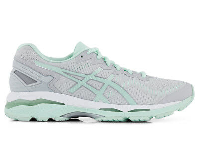 ASICS Women's GEL-Kayano 23 Lite-Show Shoe - Glacier Grey/Bay/White
