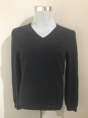 Country Road Men's Pure Merino Wool Grey Jumper - Size S
