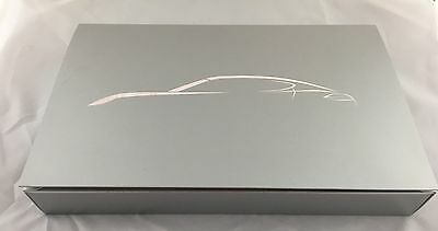 Porsche Panamera Promotional Brochure Color Configurator Set Template Box Kit