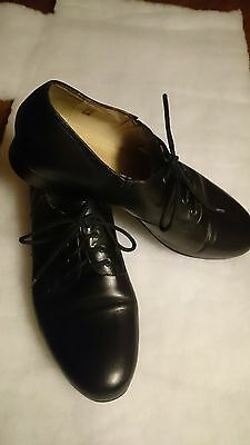 LaDuca Edward Hard Sole professional men's character dance shoes size  9.5