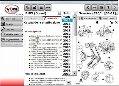 DIAGNOSTIC SOFTWARE 2016 WOW WURTH 5.00.8 R2 Englisch