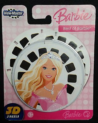 View-Master 3D BARBIE Best of Barbie 3 Reel Set NEW Fisher Price