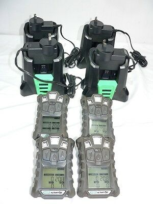 c/ Four MSA Altair 4x Personal Gas Monitors