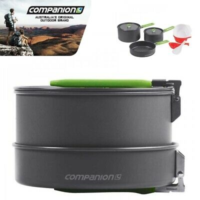 Companion Pro : Nano Squad Cookset with Mesh Storage Bag COMP5565