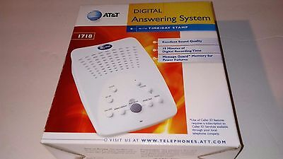 AT&T Digital Answering System Model 1718 New