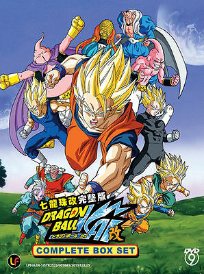 DVD Anime Dragon Ball KAI Complete Box Set Series (1-179 End) English Audio Dub