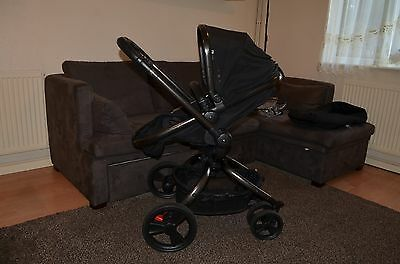 Mothercare Orb Buggy, Pushchair Single seat Stroller + raincover + footmuff