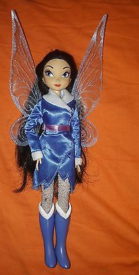 rare disney store Silvermist tinkerbell fairy Doll secret of the wings puppe