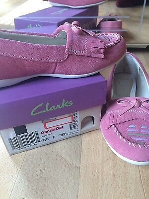 Clark Girl Light Pink Shoes Size11.5