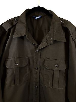 Propper F5312 Mens Long Sleeve Ripstop Tactical Shirt Sheriff's Brown 2XL