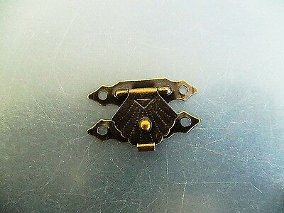Boxes Cases-Small Gift Box Clasps Antique Brass, Gold  29x18.5mm jewelery box