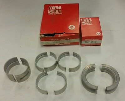 NOS New Federal Mogul Engine Bearing 4156M-10 and 1837 CP-10 Set 1956-57 Mercury