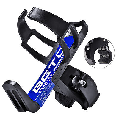 Bike Bicycle Drink Water Bottle Cup Holder Mount Cage MTB Quick Release Black