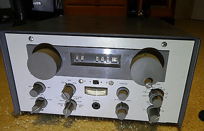 Racal RA217 communications receiver tested all bands with RF gen, works OK