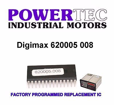Powertec digimax EPROM Chip Microchip 7C25615/P  Factory Programmed 620005 008