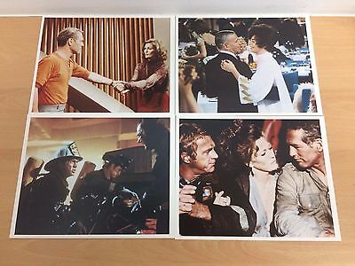 """Steve McQueen - Towering Inferno - Set (855587) of 8 10"""" x 8"""" Photographs"""