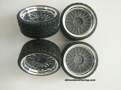 1:18 Scale BBS LM LEMANS 19 INCH TUNING WHEELS, Multiple colours available!!
