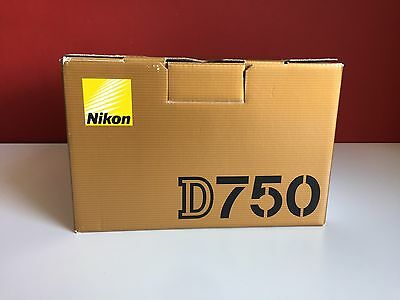 Nikon D D750 24.3 MP SLR-Digitalkamera - Schwarz
