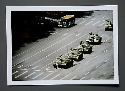 Stuart Franklin Limited Edition Photo 24x17cm Tiananmen Square Platz Peking 1989