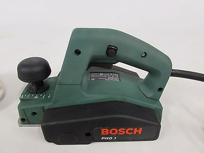Bosch Pho 1 240V Electric Planer 82Mm Blade Width C/w Dustbag  & Instructions