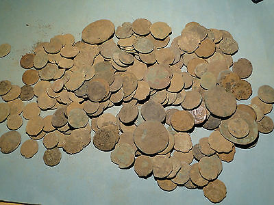 20 Assorted Unresearched Low Quality Roman Bronze Coins.