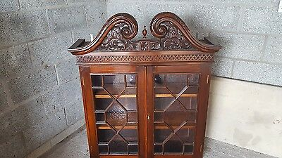 antique furniture glass cabinet