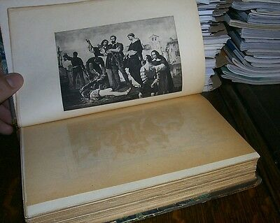 History of the Conquest of Peru, Victorian Hardcover Volume. Old Book
