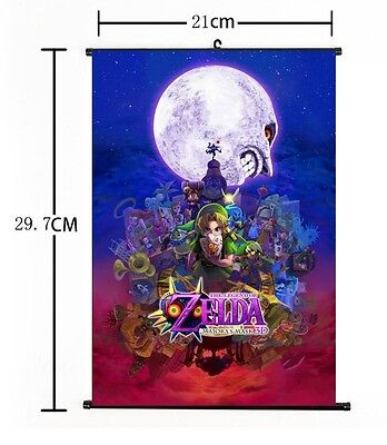 """Hot Japan Anime The Legend of Zelda Home Decor Poster Wall Scroll 8""""x12"""" 06"""