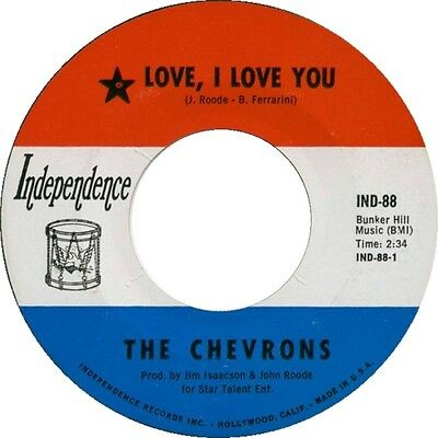 LOVE, I LOVE YOU The Chevrons  *NORTHERN SOUL*