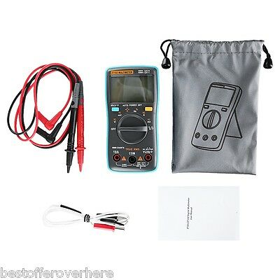 ZT102 Big Screen 6000 counts Display Digital Multimeter auto-ranging Backlit