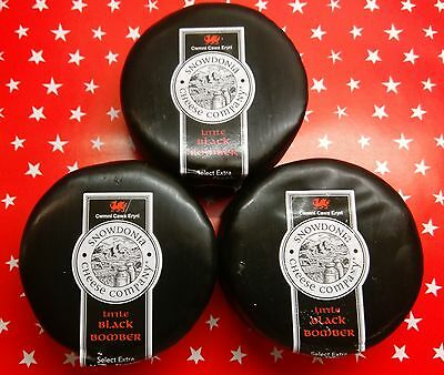 Snowdonia Cheese 3 x 200g Black Bombers - Best Deal on Web