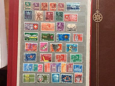 swiss postage stamps