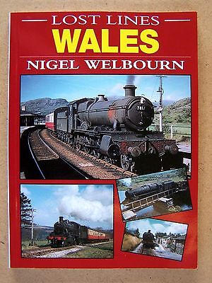 Lost Lines Wales. Railways Trains Book.