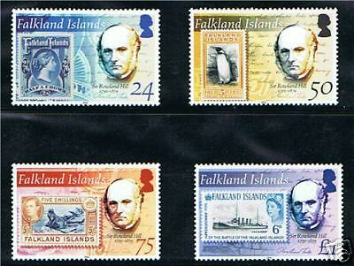Falkland Is 2004 Anniv of Rowland Hill SG989-92 MNH