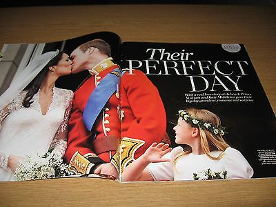 PRINCE WILLIAM & KATE MIDDLETON - Magazine Clippings - FAIRYTALE WEDDING