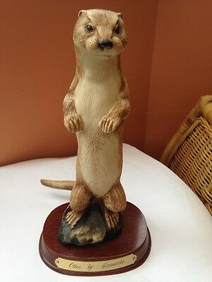 Purbeck Otter by Leonarde