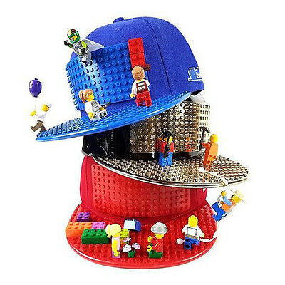 Brick Brick Hat - The snapback cap you can build on with Lego and other bricks