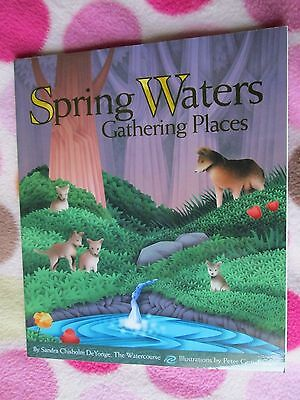 Doby Spring Oklahoma book homeschool nature water coyote myths legends games SC