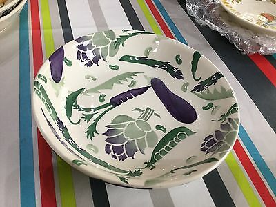 Emma Bridgewater Purple Vegetables Pasta Dish New Best