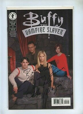 Buffy The Vampire Slayer 21 - Dark Horse 2000 - VFN+ - DF Signed Harry Groener