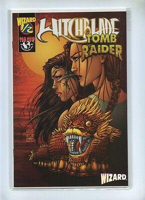 Witchblade Tomb Raider 0.5 - Top Cow 1998 - VFN - Wizard Special COA