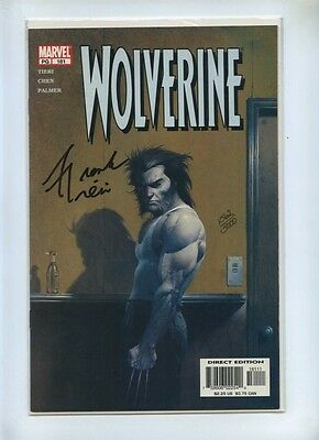 Wolverine 181 - Marvel 2002 - VFN - Dynamic Forces Ltd Series Signed Frank Tieri