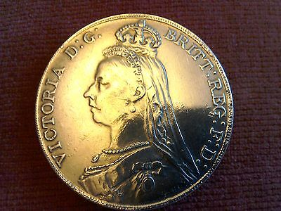 Queen Victoria, £5 Piece 1891 (reprodution).