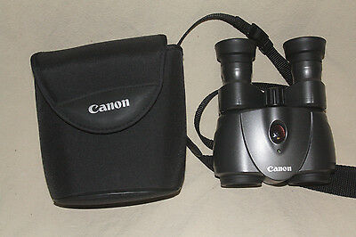 Canon 8X25 Is Image Stabilized Binoculars With Case Mint 7539