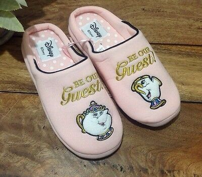 Beauty And The Beast Mrs Potts And Chip Slippers Primark Size Medium Size 5 6