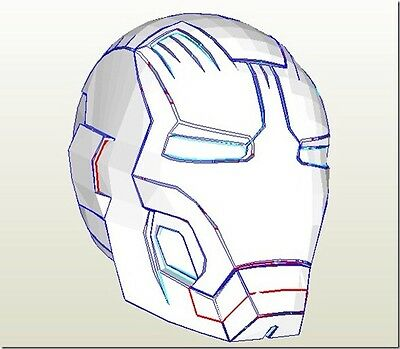 Iron Man Mk42 Foam Pepakura Kit