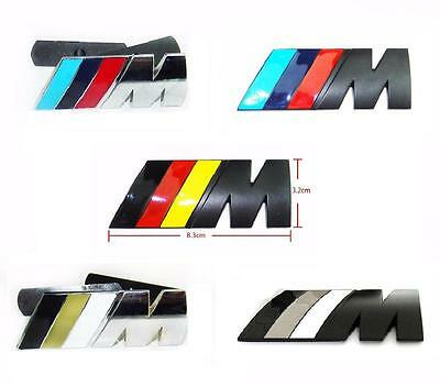 BMW M Tech Sport Power Front Grille Grill Emblem Badge With Fixing Kit 5 Designs