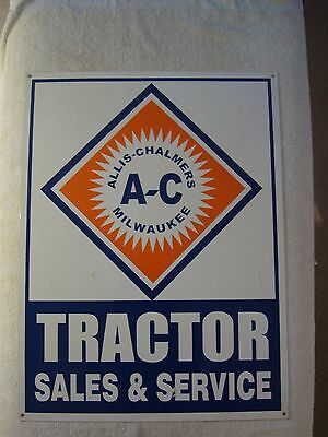 Allis Chalmers Sign/Reproduction