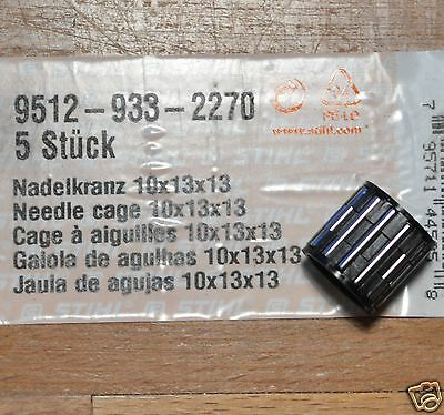 Genuine Stihl Clutch Needle Bearing MS200T MS210T 020T 9512 933 2270 Tracked