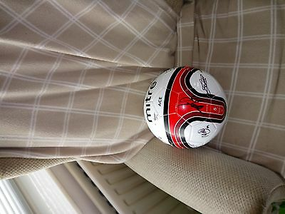 Middlesbrough signed mitre ball